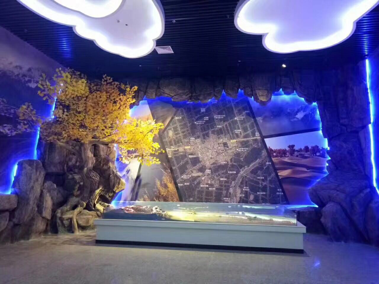 南京展馆造景设计