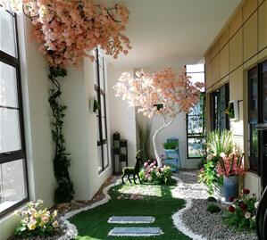 南京仿真水泥榕树价格,南京庭院假山设计施工价格